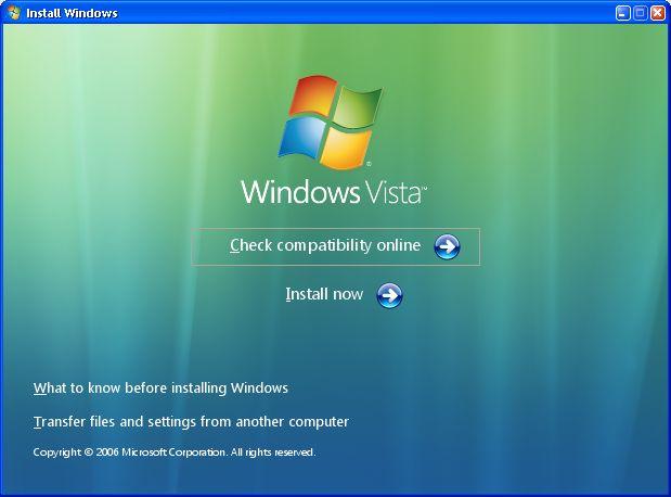 Es ist so weit: Neue Schlüssel für Windows Vista