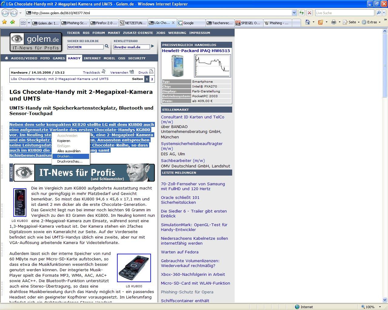 Jetzt aber: Internet Explorer 7 in Deutsch ist da (Update 3)