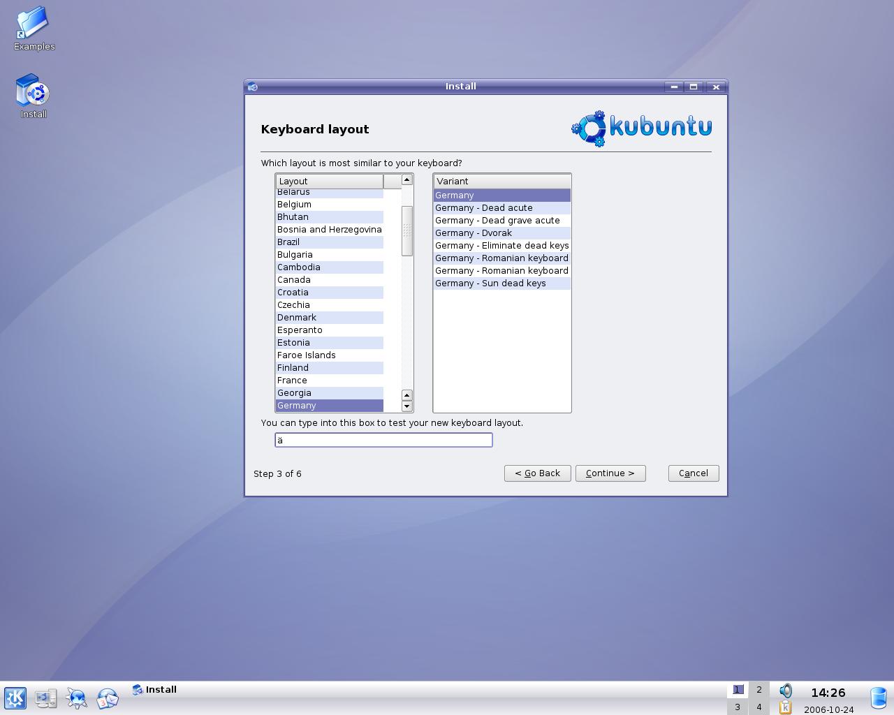"""Ubuntu 6.10 """"Edgy Eft"""" ist fertig (Update)"""