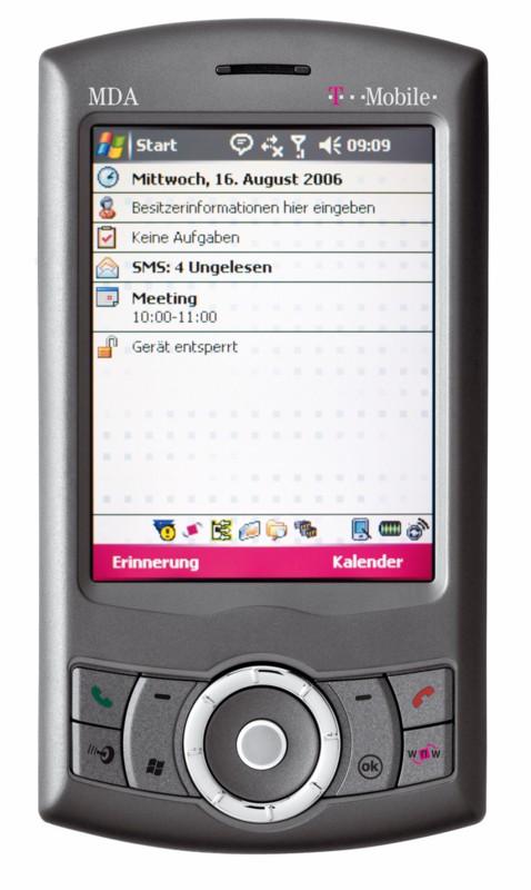 T-Mobile bringt MDA-Smartphone Compact III mit GPS-Funktion