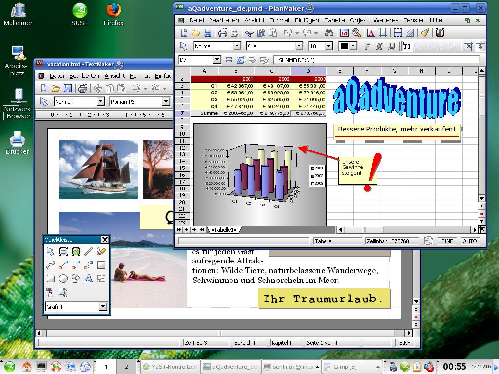 SoftMaker Office kommt auf Linux und FreeBSD