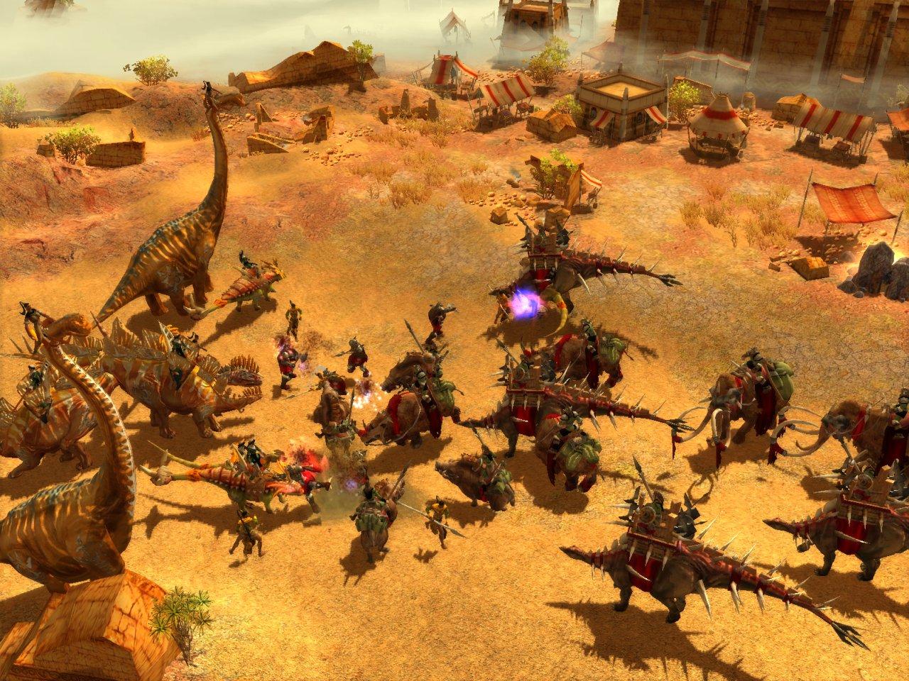 Spieletest: ParaWorld - Mit Dinos gegen Warcraft - Screenshots
