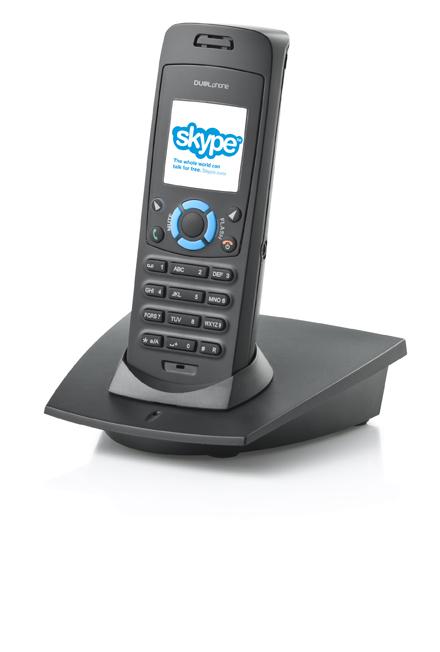 Skype und klassisches Festnetztelefon in einem Gerät