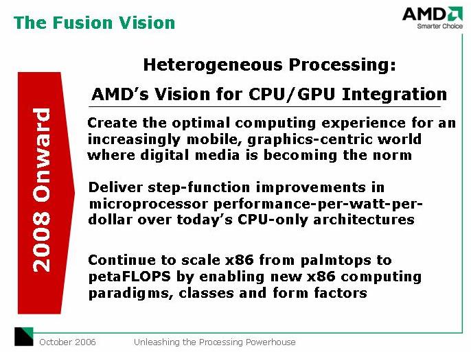 AMD Fusion: Grafik im CPU-Kern kommt zuerst für Notebooks