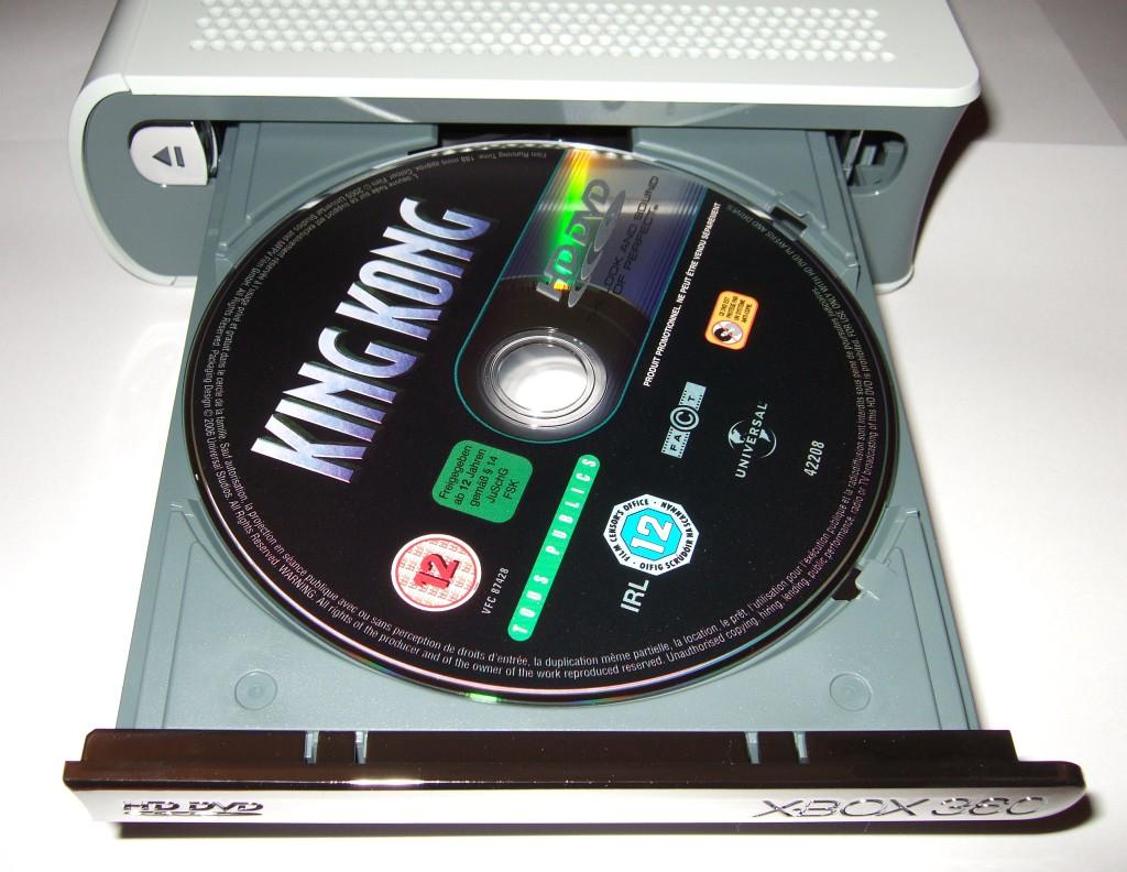 Test: HD-DVD-Laufwerk für Xbox 360 - King Kong legt los