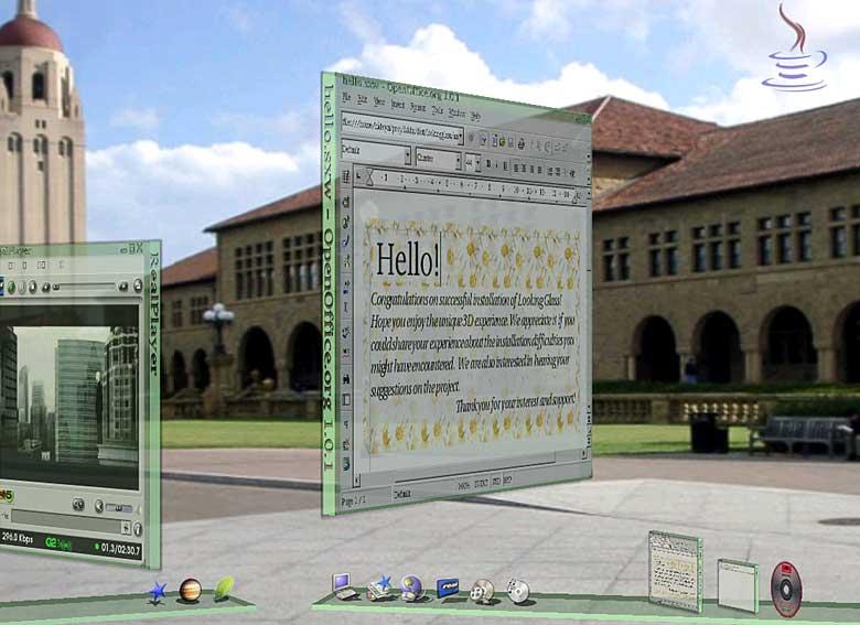 3D-Desktop Looking Glass 1.0 erschienen