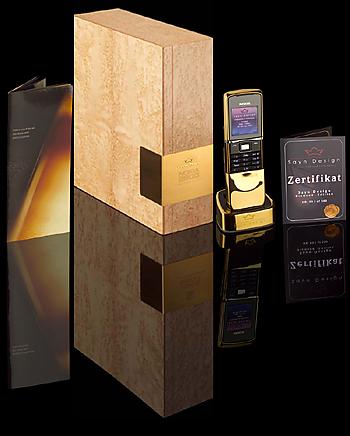 Nobel-Handys von Sayn Design für 12.500 Euro