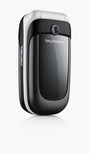 Handy von Sony Ericsson mit farbigen Lichteffekten