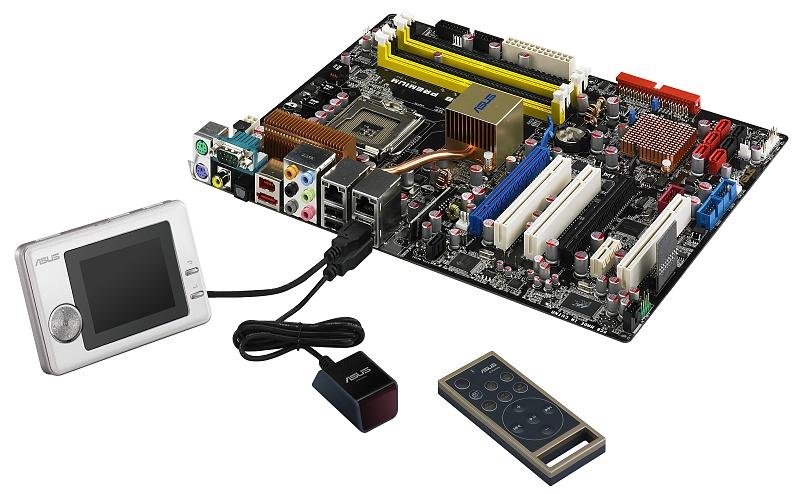 Asus: Vista-Mainboards mit Flash-Cache und Zusatz-Display