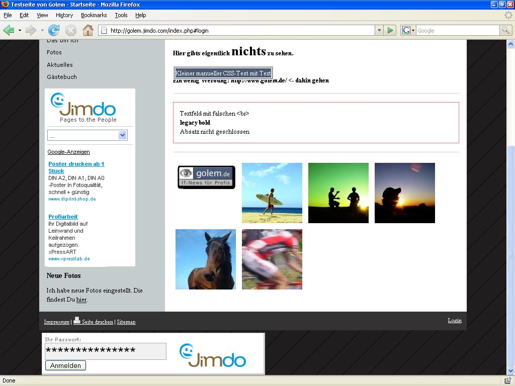 Jimdo: Konkurrent zu Googles Webseitentool Page Creator