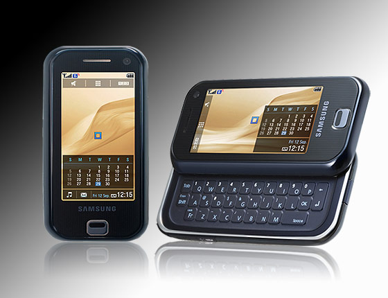 samsung handy sgh f700 mit tastatur und 5 megapixel kamera. Black Bedroom Furniture Sets. Home Design Ideas
