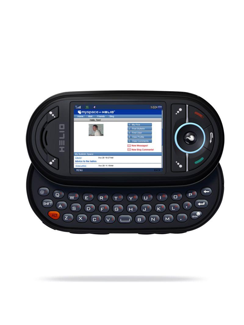 Dual-Schiebehandy mit QWERTY- und Zahlentastatur