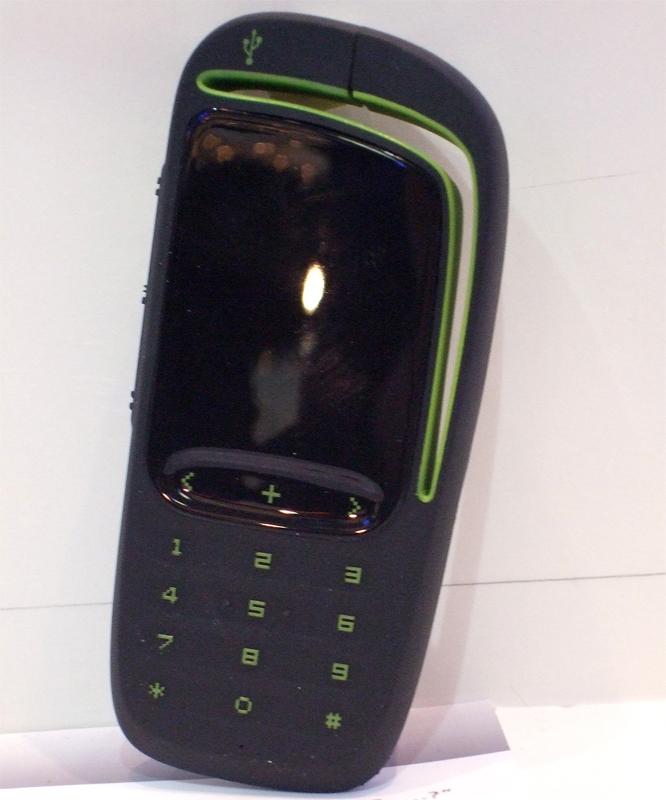 Konzeptstudien: Handys mit USB-Stick und ausgelagertem Akku