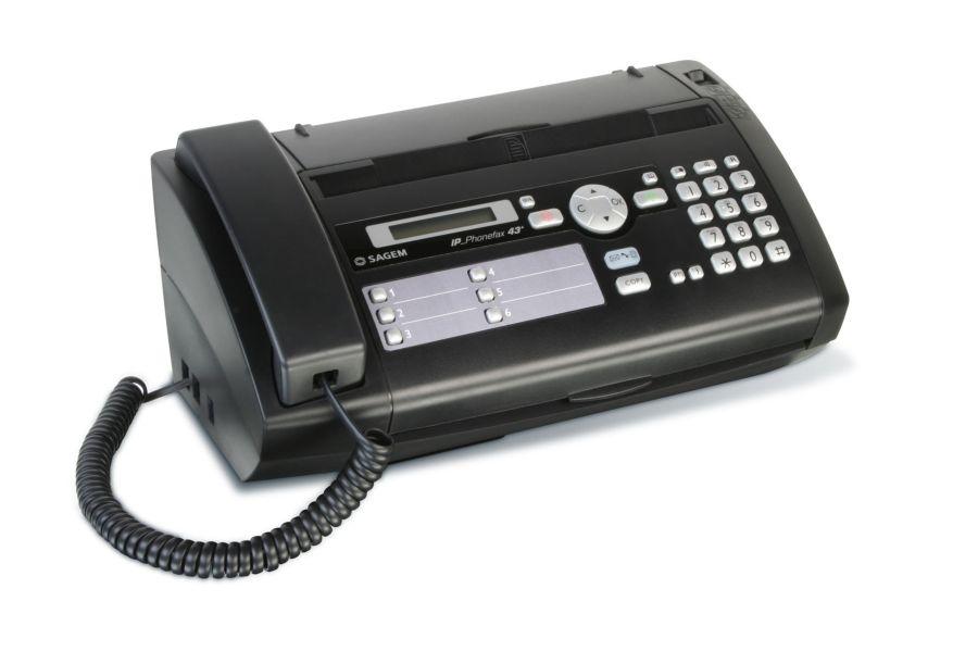 Sagem bietet Hybrid-Fax für Faxen via Voice over IP