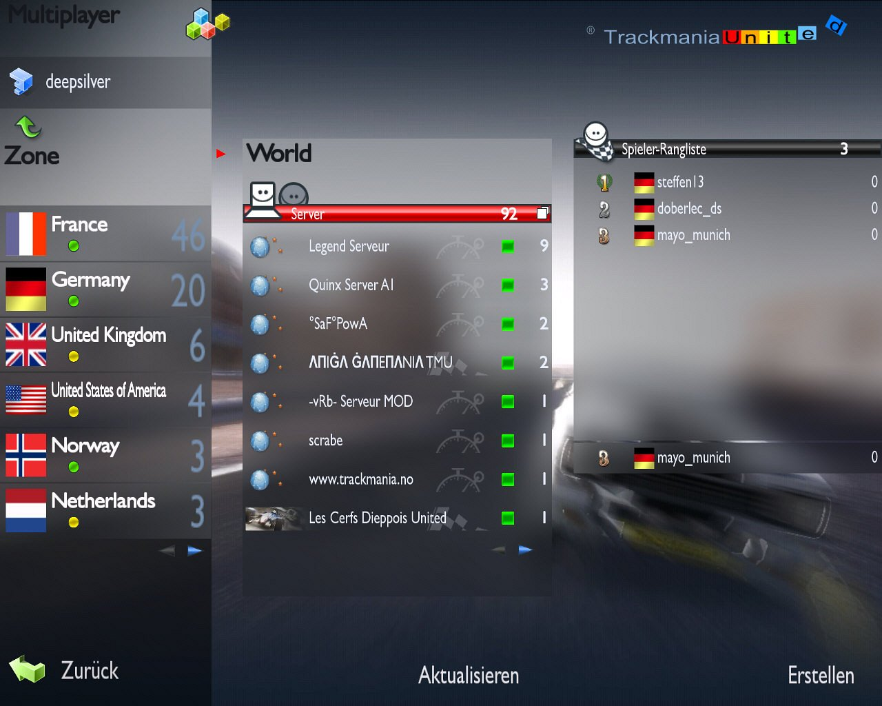 Spieletest: Trackmania United - Community-Fahrspaß