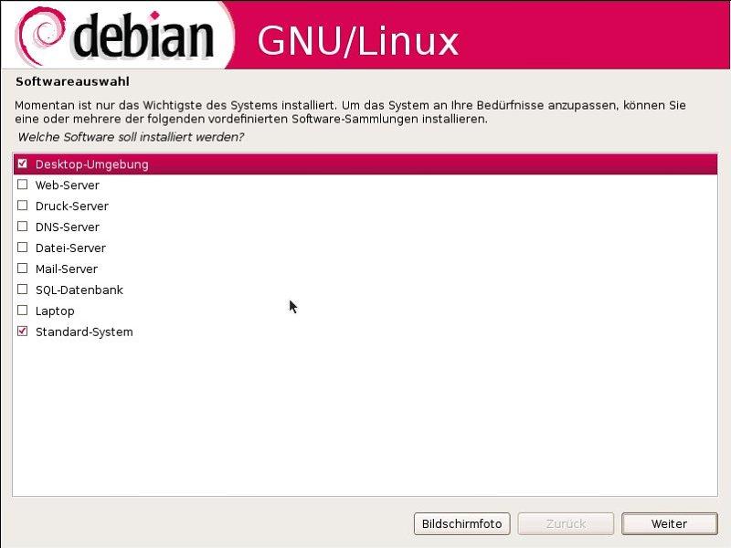 Wer welches Linux braucht - Der grafische Installer