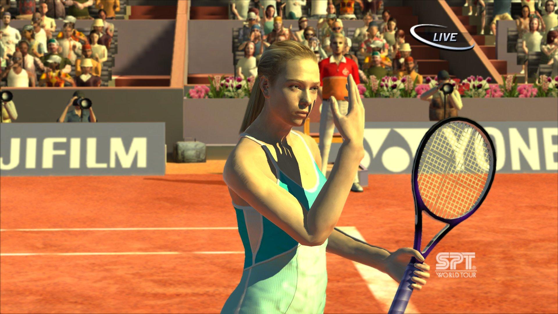Spieletest: Virtua Tennis 3 - Schöner Filz