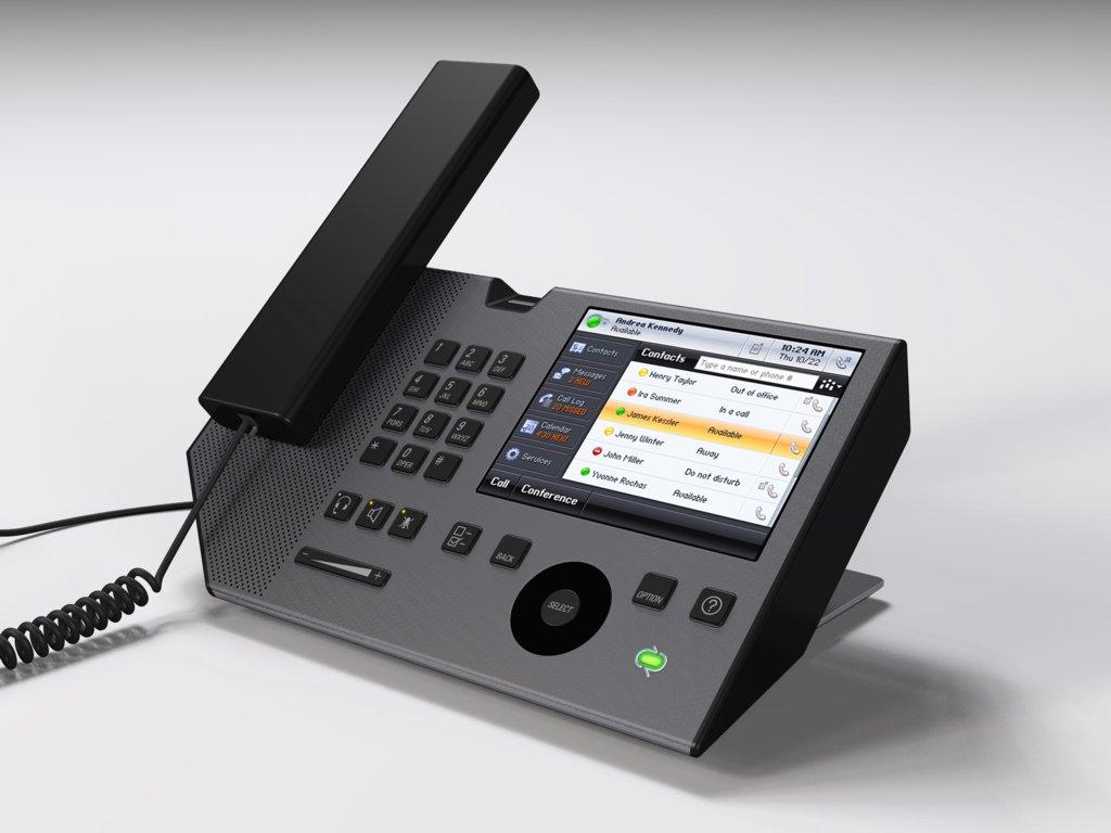 Unternehmenstelefone mit Microsoft-Technik