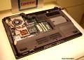 Asus-Notebook, Prozessor-Kühler entfernt, unter CPU TurboMemory
