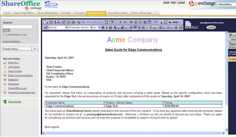 Textverarbeitung und Tabellenkalkulation für den Browser
