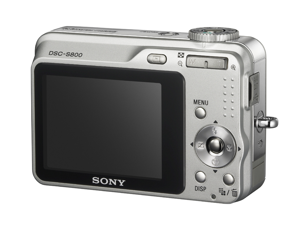 Sony DSC-S800: 8 Megapixel und 6fach optisches Zoom
