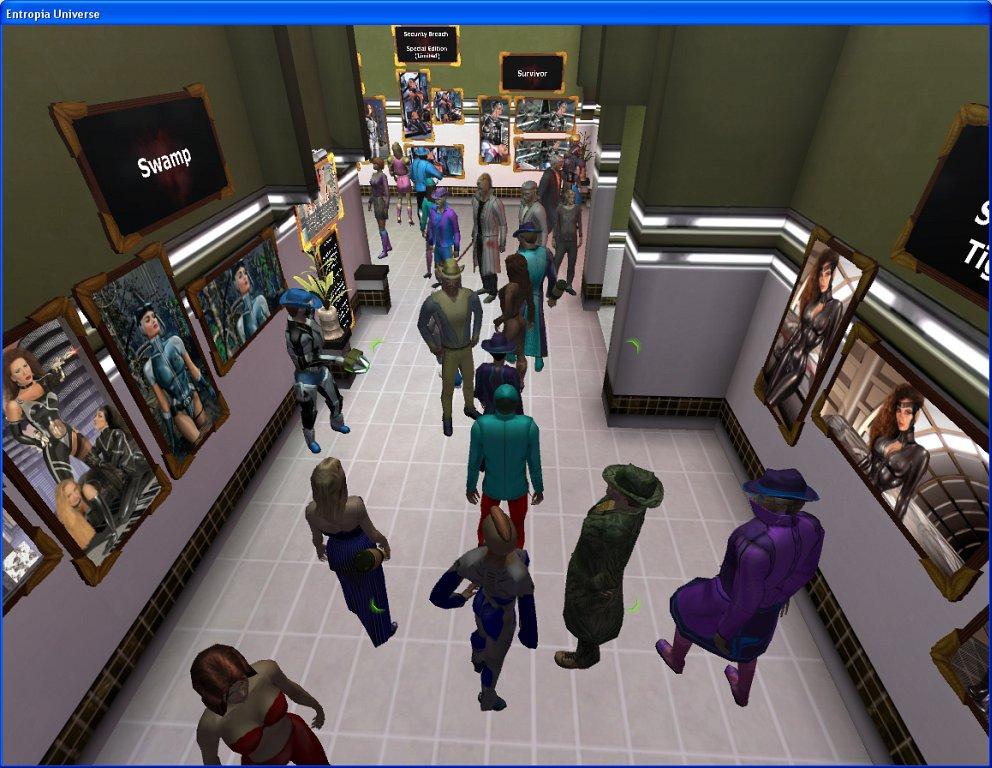 Entropia Universe: Eine echte Bank in der virtuellen Welt