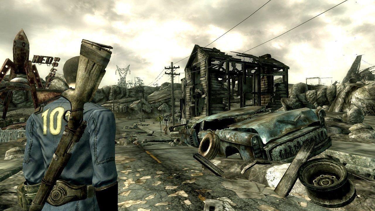 Interview: Fallout 3 - Atombomben und schlechtes Karma - Fallout 3: Unterwegs in einer trostlosen Zukunft