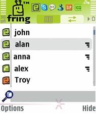 Fring - Mobile Kommunikation via ICQ, Skype & Co.