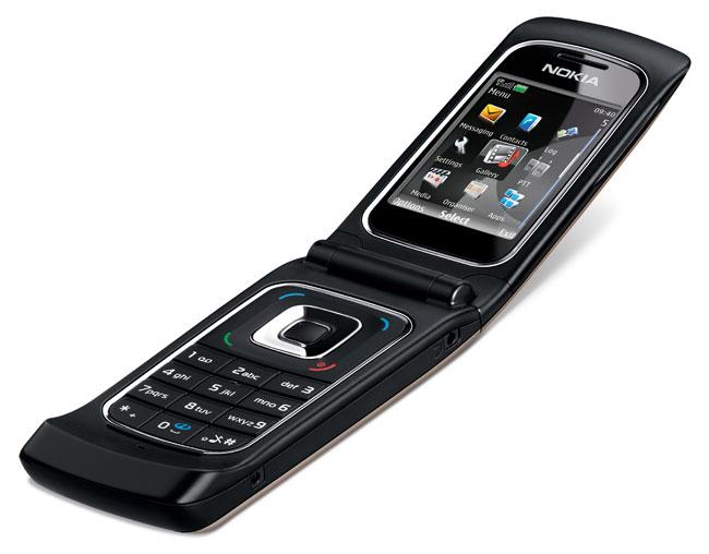Nokia: UMTS-Klapphandy aus einem Guss