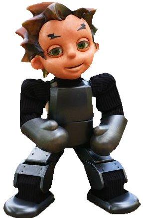 Zeno - Sprechender Roboterjunge mit externem Gehirn -