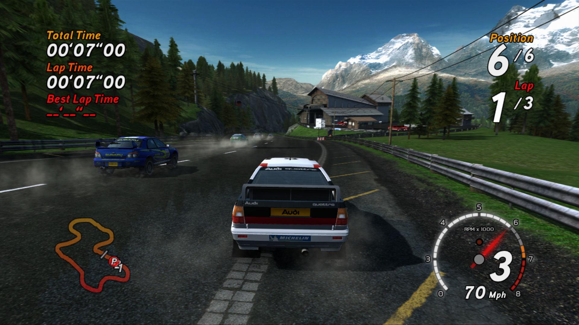 Spieletest: Sega Rally - Rennspaß wie in der Spielhalle - Sega Rally