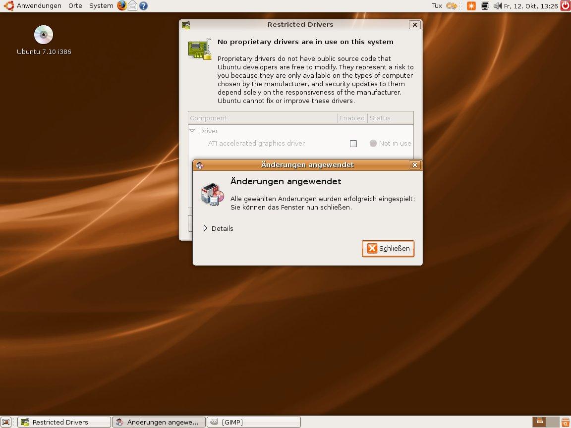 Test: Ubuntu 7.10 mit 3D-Desktop -