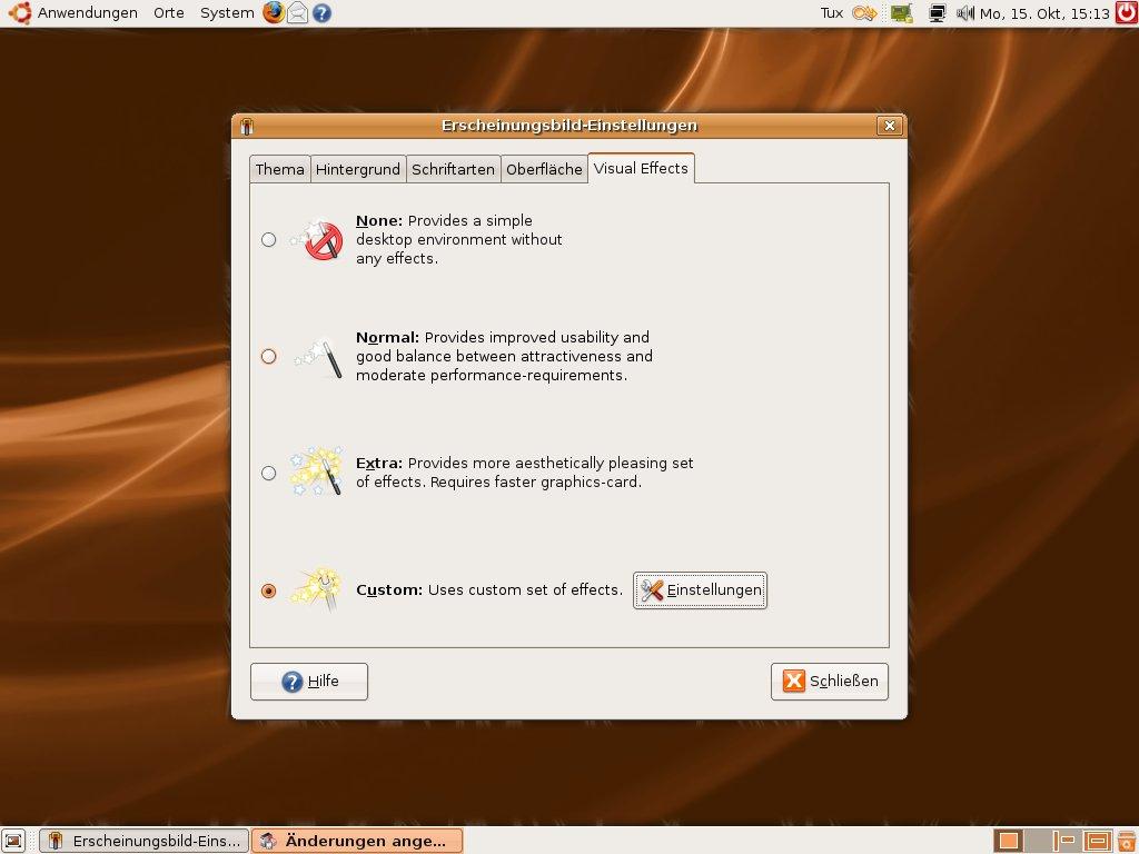 Test: Ubuntu 7.10 mit 3D-Desktop - Wie viel Compiz darf es sein?