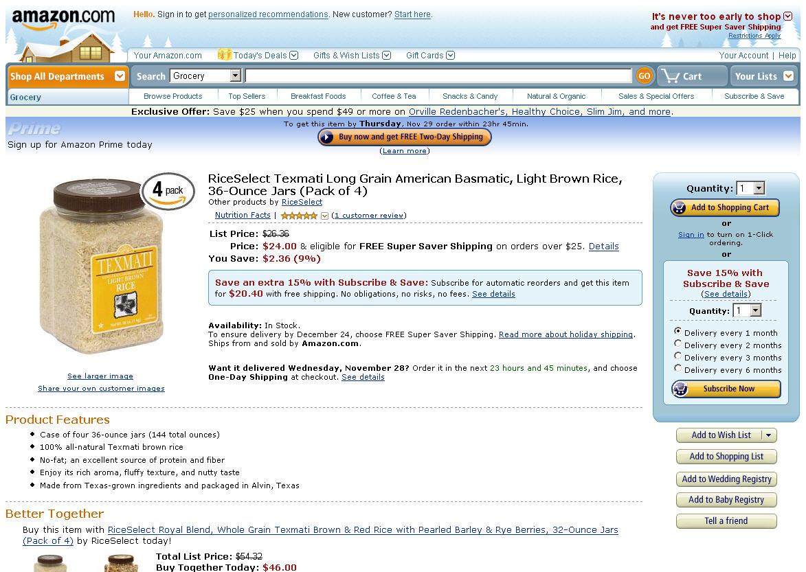 Nachschub: Amazon bietet Abos für Produkte an