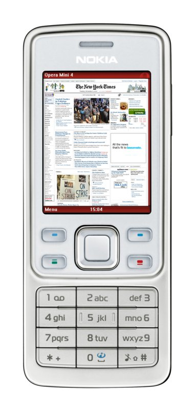 Opera Mini 4 - Handy-Browser mit Komfortfunktionen - Opera Mini 4