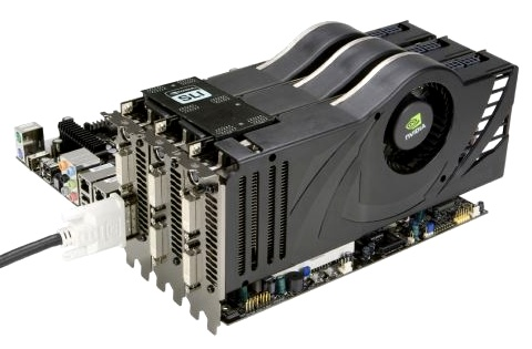 3 Grafikkarten synchron: Benchmarks zu Nvidias 3-Way-SLI (U)