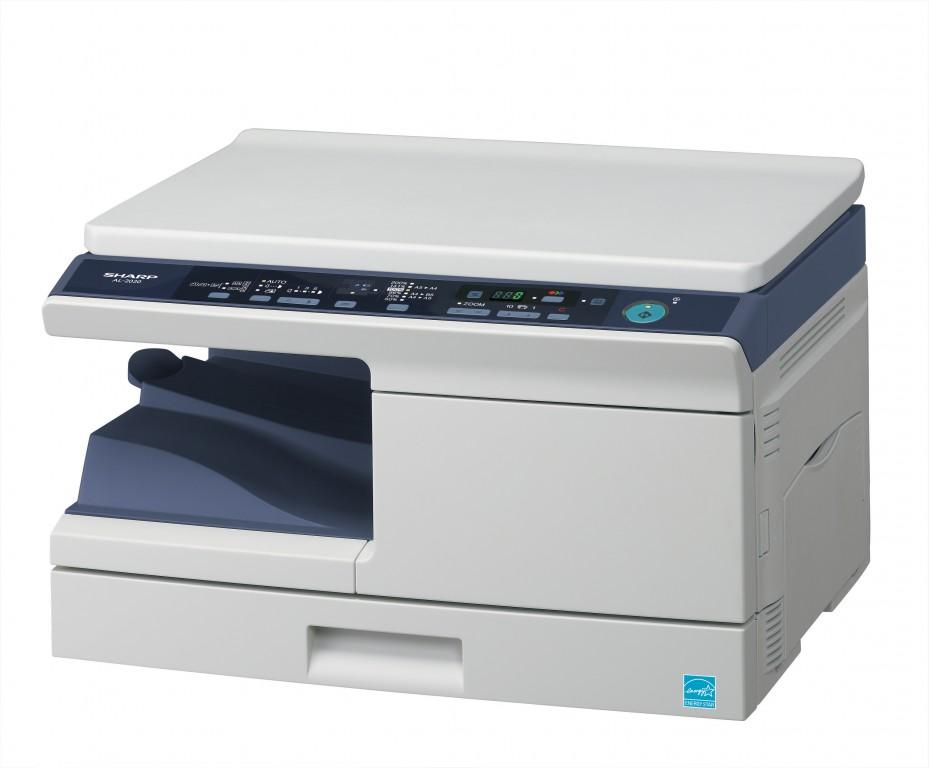 A4-Multifunktionssysteme mit S/W-Laserdrucker von Sharp - Sharp AL-2020