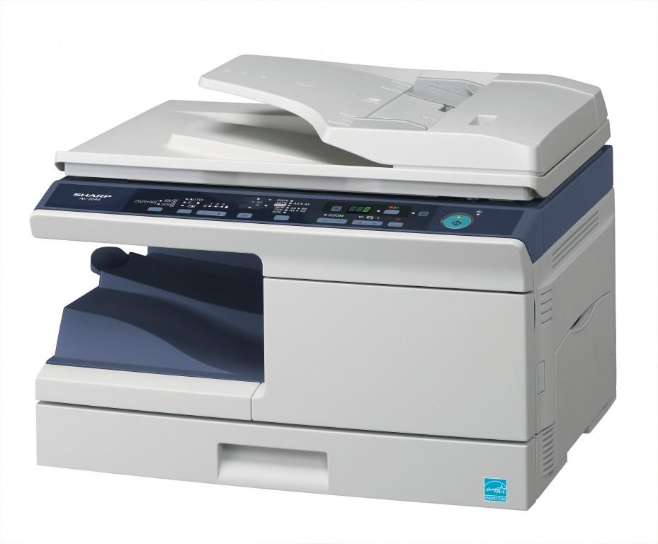 A4-Multifunktionssysteme mit S/W-Laserdrucker von Sharp - Sharp AL-2040