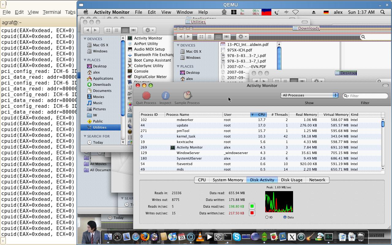 MacOS X virtualisiert für alle - MacOS X in Qemu