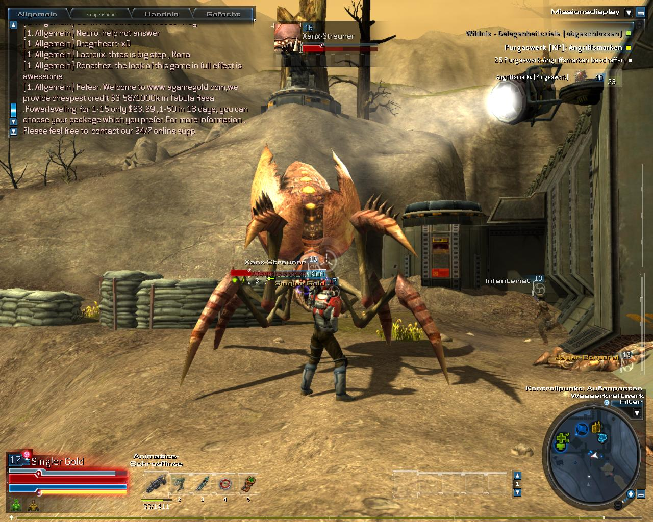 Spieletest Tabula Rasa Online Spiel Vom Ultima Erfinder