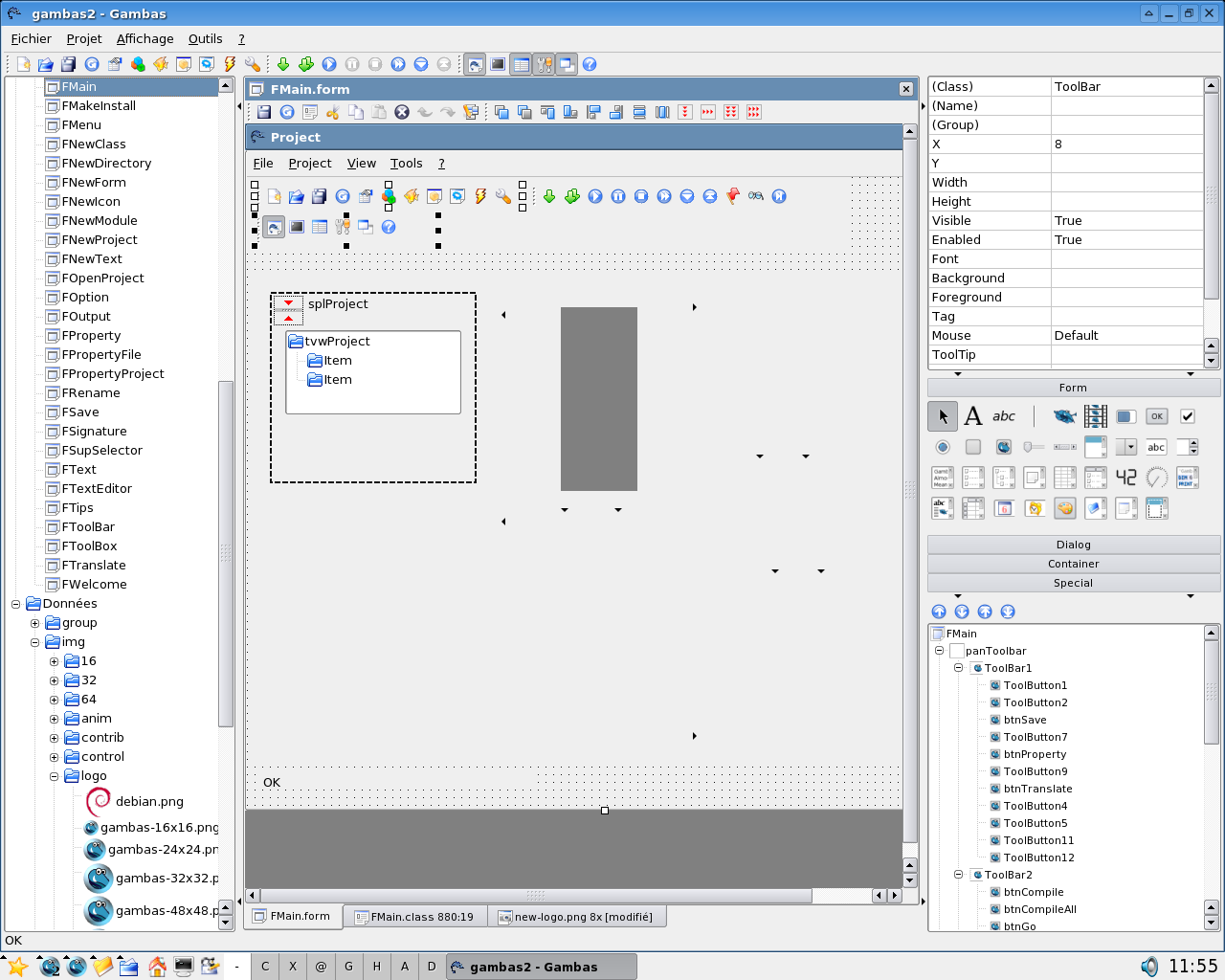Freie Basic-Entwicklungsumgebung Gambas 2.0 erschienen - Gambas 2.0