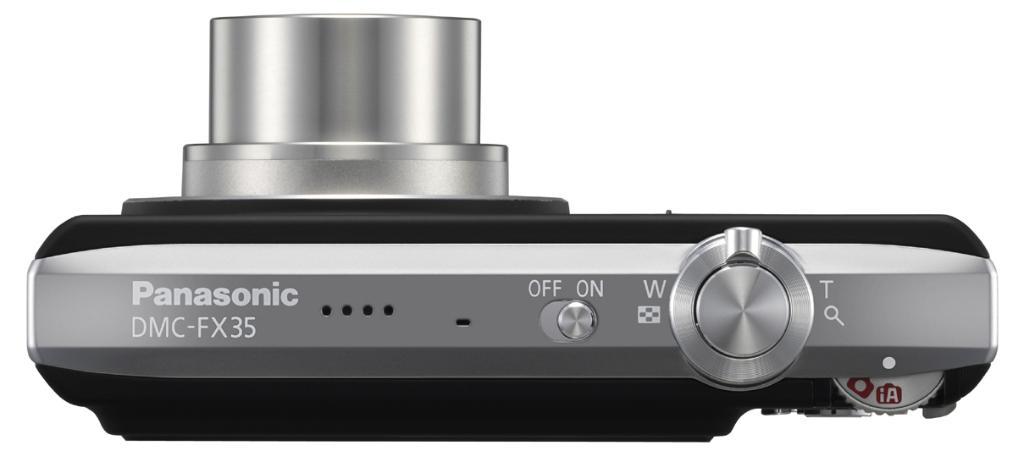 Panasonic: Kamera mit 10 Megapixeln und 720p-Videoaufnahme - Panasonic Lumix DMC-FX35