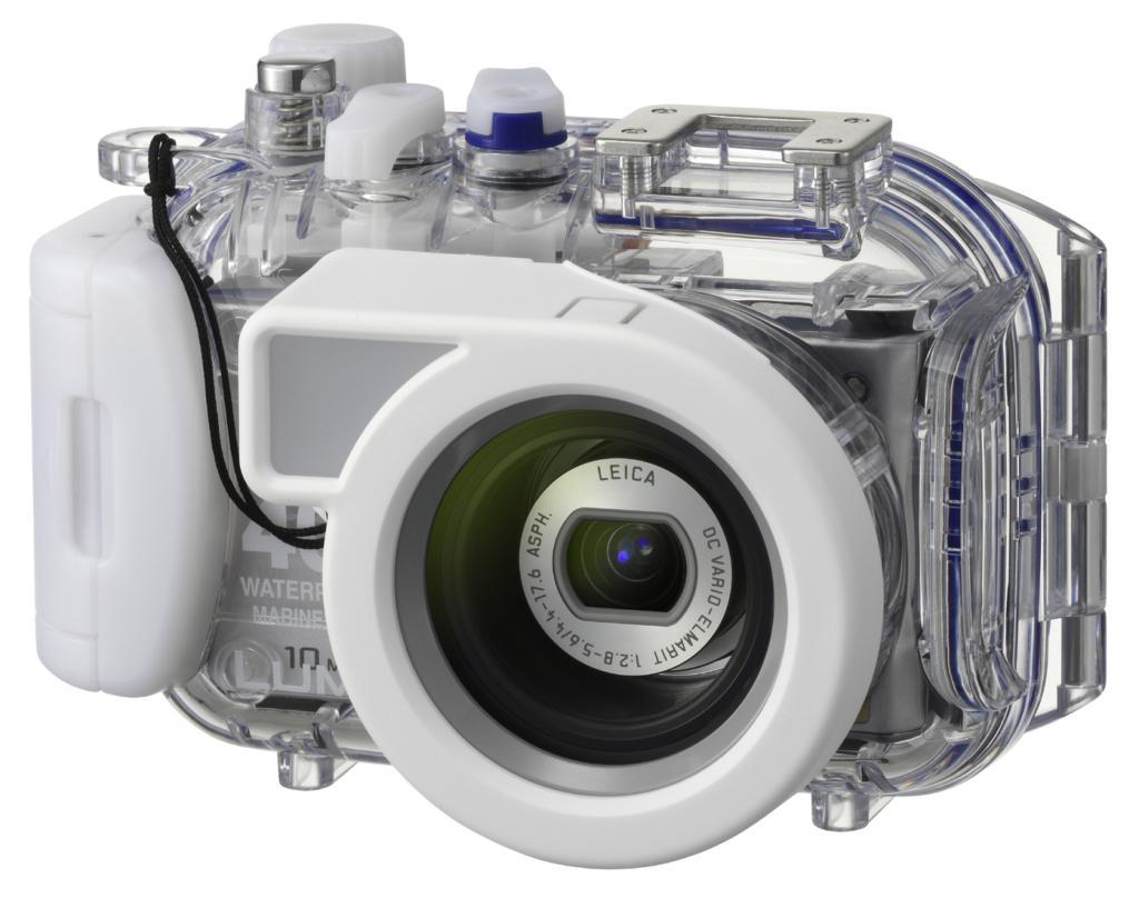 Panasonic: Kamera mit 10 Megapixeln und 720p-Videoaufnahme -