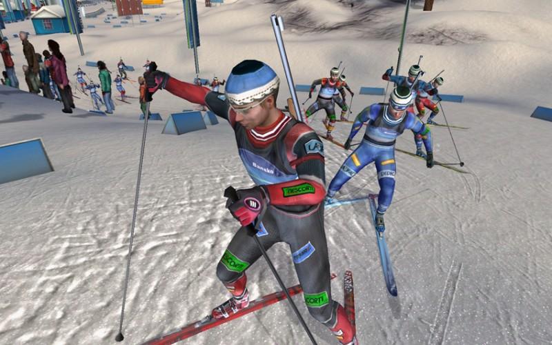 Spieletest: RTL Biathlon 2008 - Jetzt auch mit Spielspaß - RTL Biathlon 2008