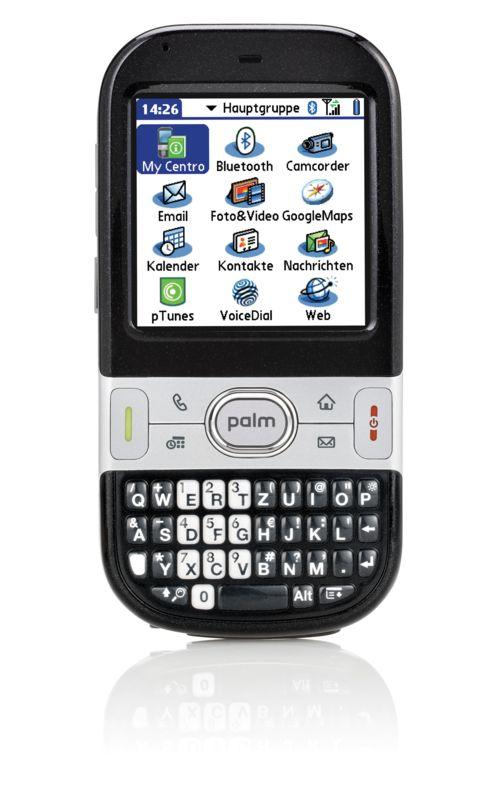 Palm bringt Centro-Smartphone nach Deutschland - Palm Centro