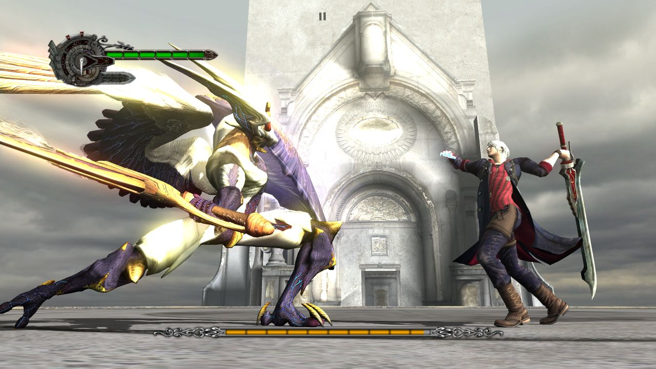 Spieletest: Devil May Cry 4 - elegante Prunk-Action - Devil May Cry 4