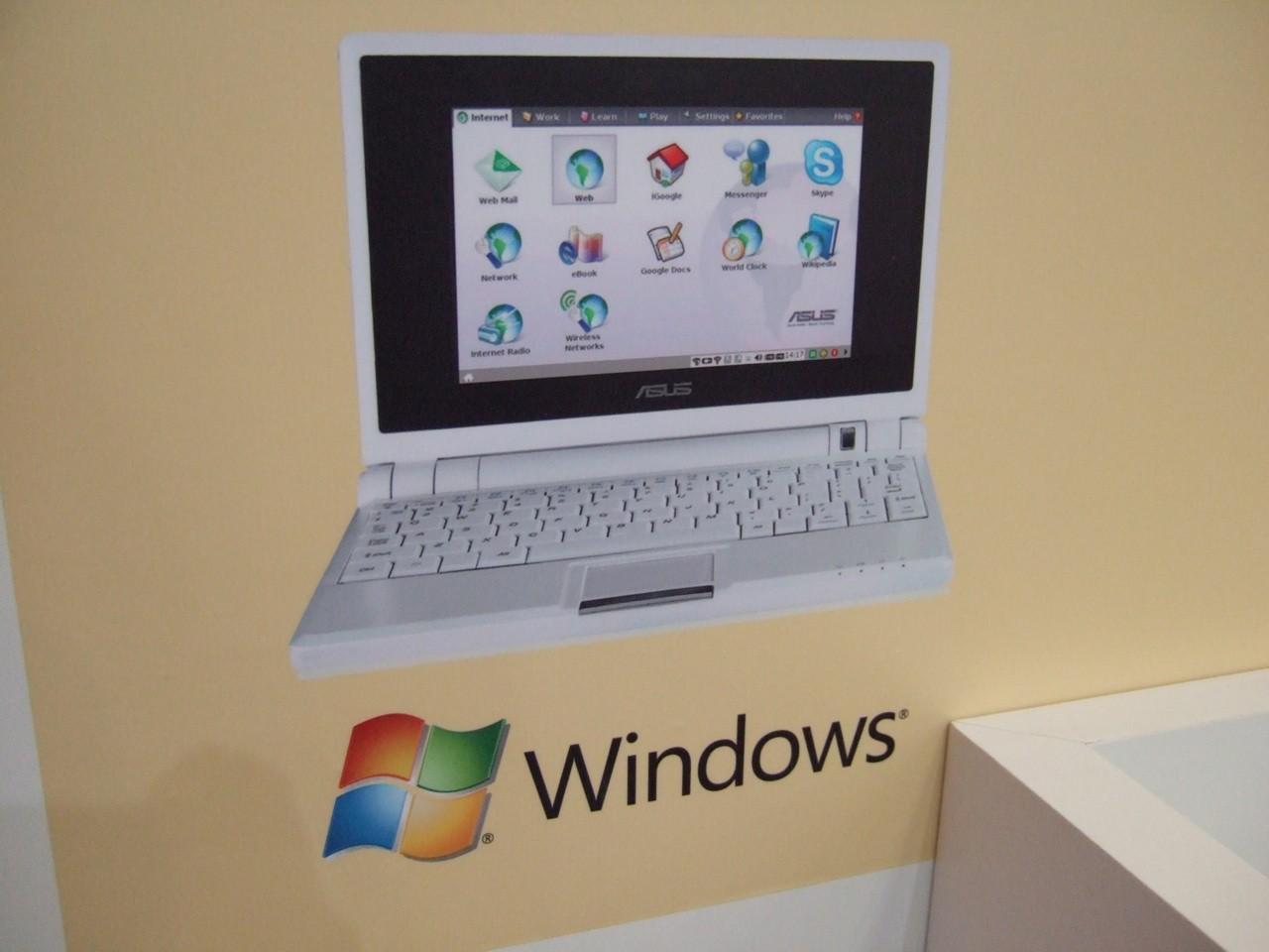Eee-PC mit Windows XP und UMTS (Update) -