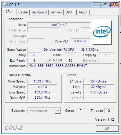 Neue Daten zu Intels Atom-Prozessor