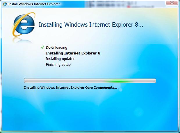 Erste Beta des Internet Explorer 8 veröffentlicht (Update) - Installation unter Windows Vista