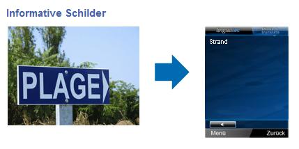 Knipsen und verstehen: Übersetzungssoftware für Handys - Shoot & Translate von Linguatec